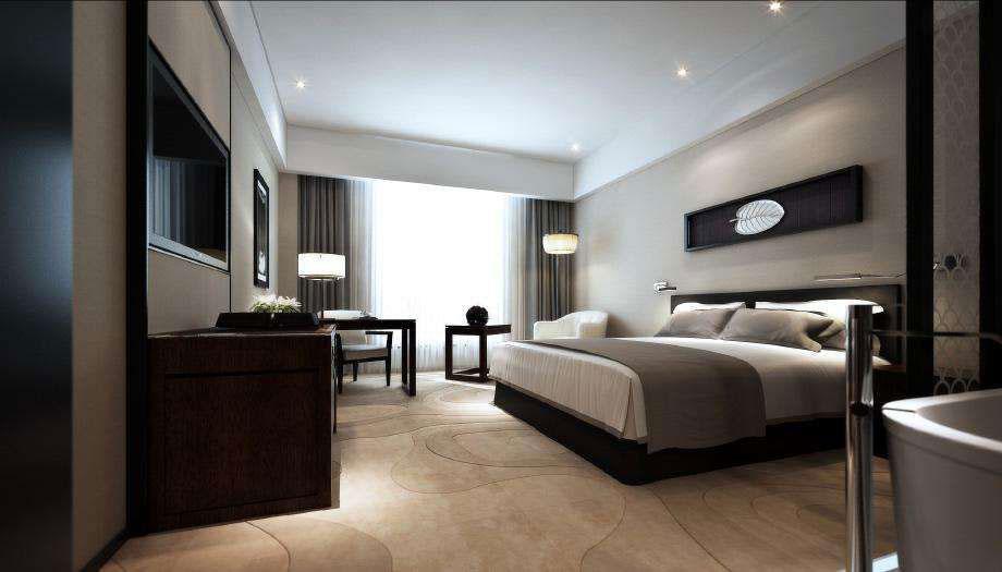酒店装修客房图片
