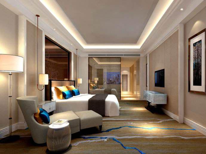 酒店装修房间图片