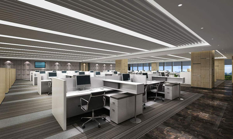 办公室装修光线设计