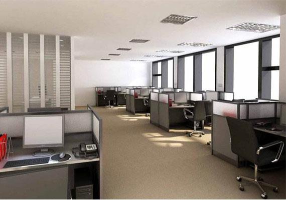 办公室装修自然光线设计