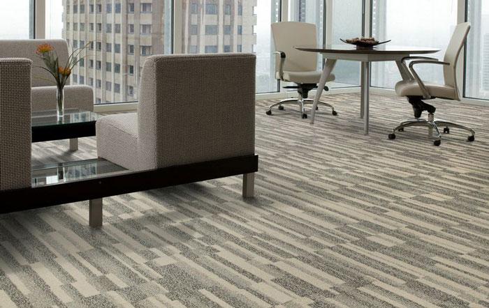 办公室接待区地毯装饰