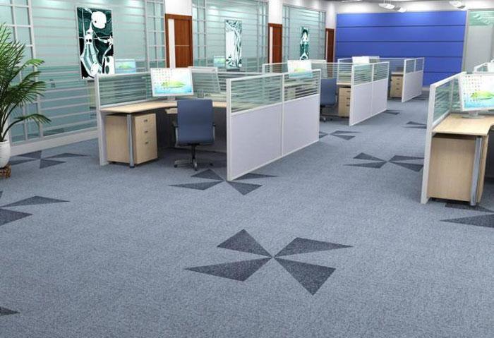 办公室办公区地毯装饰