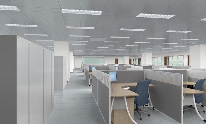 办公室装修环境采光