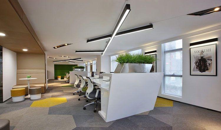 好的办公室装修根据什么特点来设计?