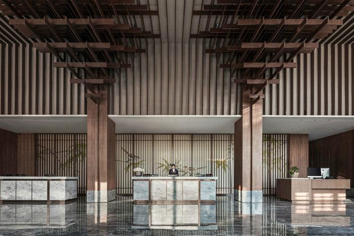 智能现代酒店装修效果图