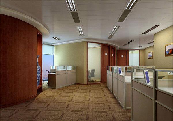 成都办公室装修简欧风格