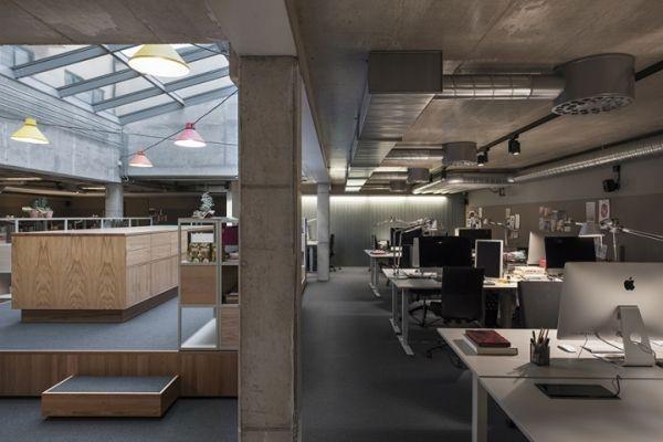 成都办公室装修北欧风格