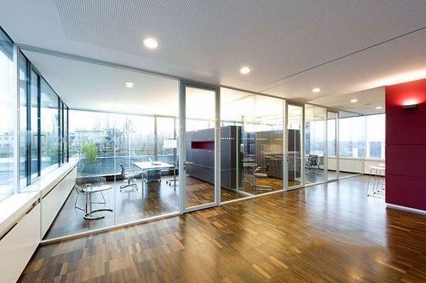 办公室装修玻璃隔断设计