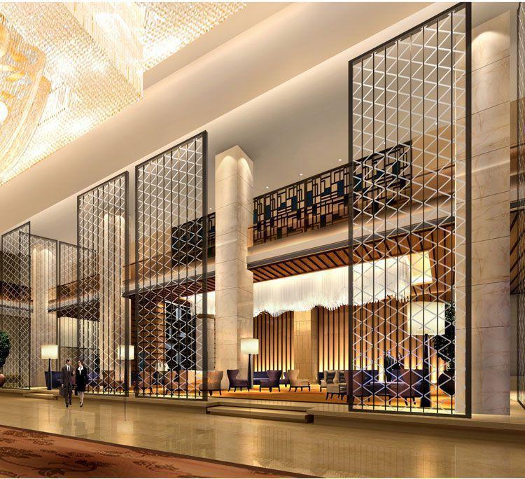 CCD--太原威斯汀酒店装修大堂吧效果图