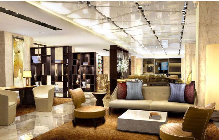 CCD--太原威斯汀酒店装修行政酒廊效果图
