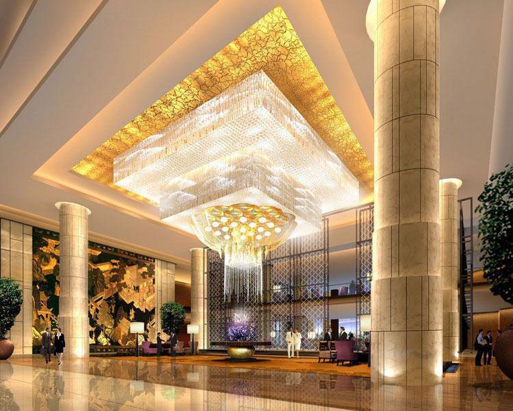 CCD--太原威斯汀酒店装修大堂效果图