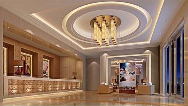 酒店大厅现代风格装修