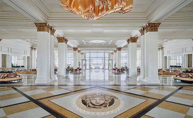 酒店大厅重技式风格装修
