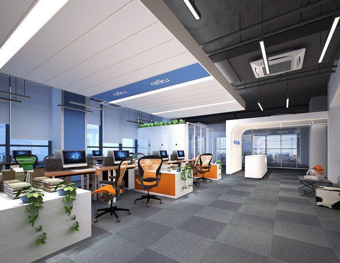 金融公司办公区域装饰