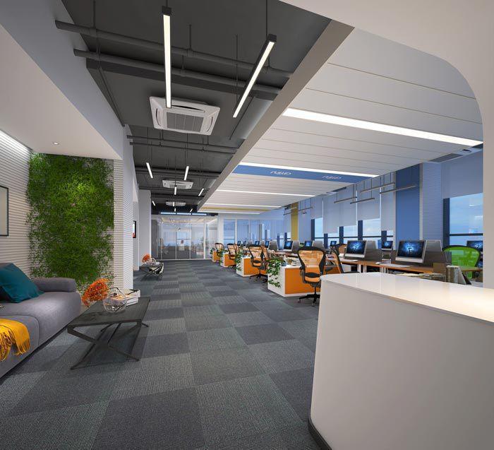 金融办公室空间设计