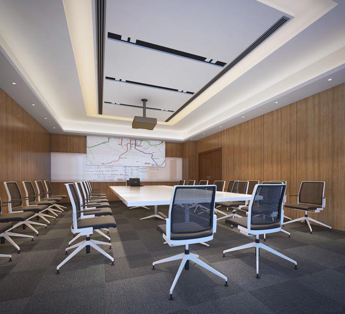 金融公司会议室装修效果图