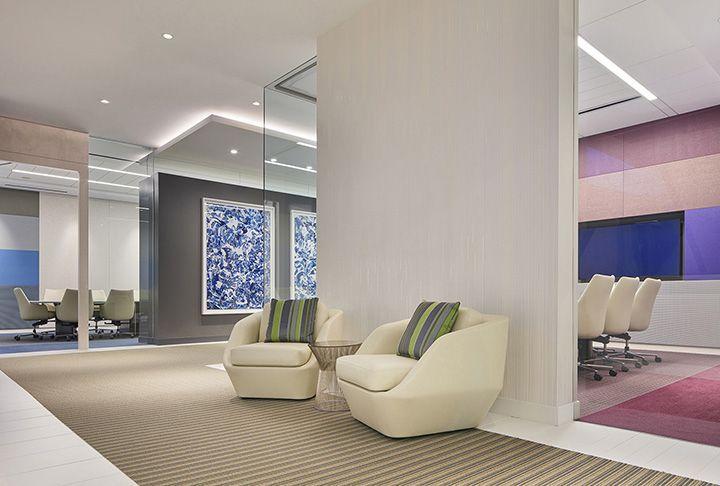 律师事务所公司大厅沙发装饰