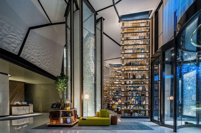 酒店装修大厅时尚元素设计