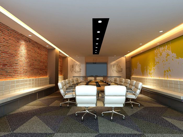 电子商务公司会议室装修