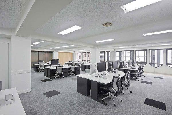 公司办公区域空间设计摆放