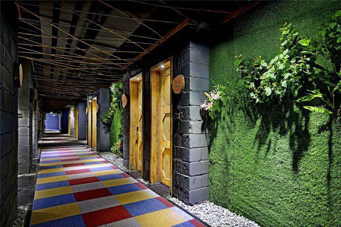酒店客房走廊装饰