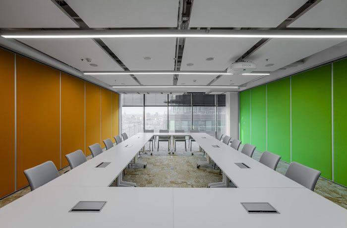 办公室会议室回型设计