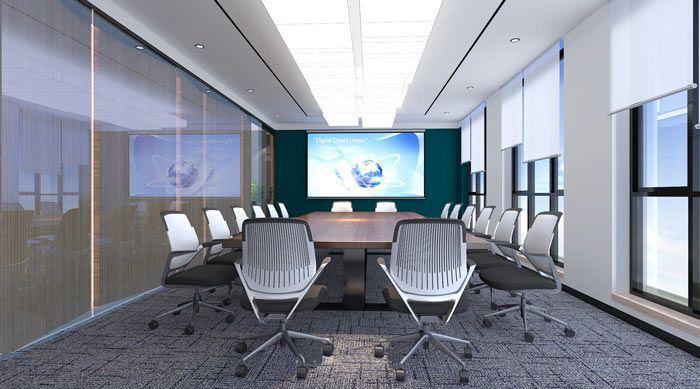 办公室现代类型会议室装修设计