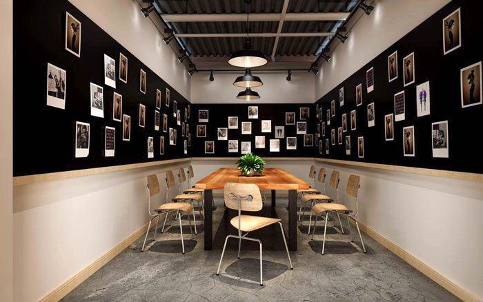 办公室简单创意小会议桌