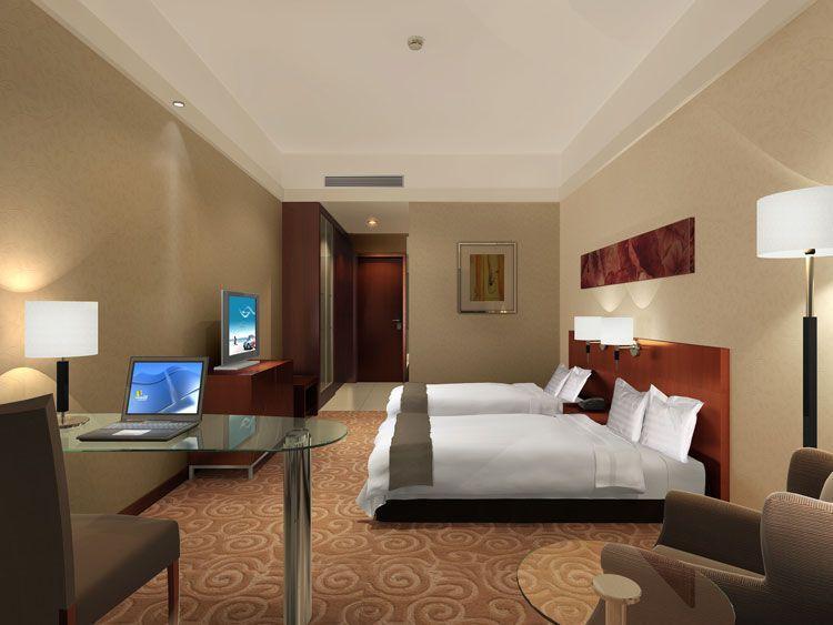 酒店标准客房摆放设计