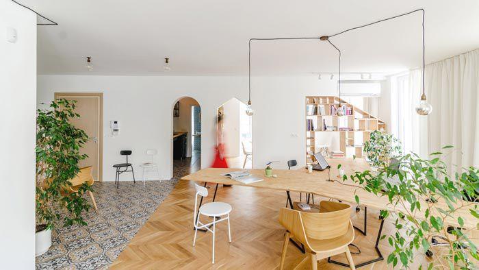 公寓式工作室装修设计(图)