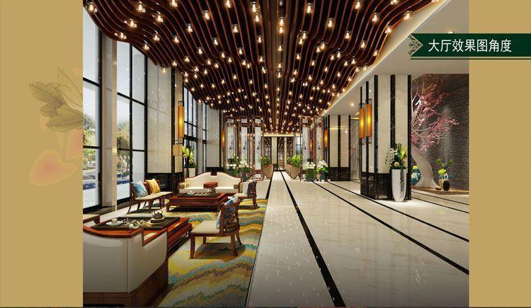 酒店大厅效果图角度
