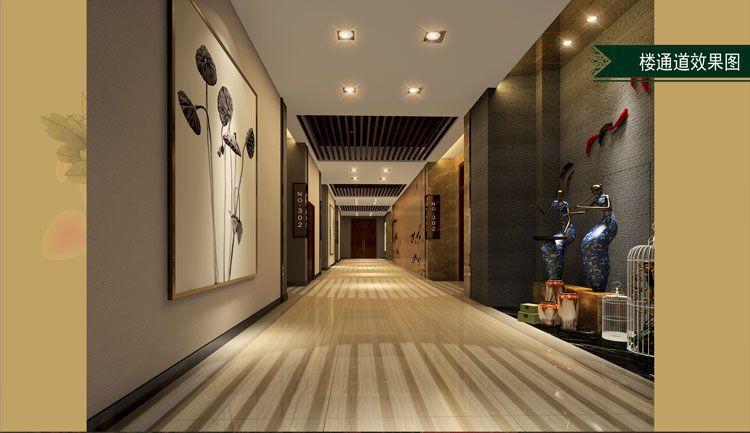 酒店楼道设计效果图
