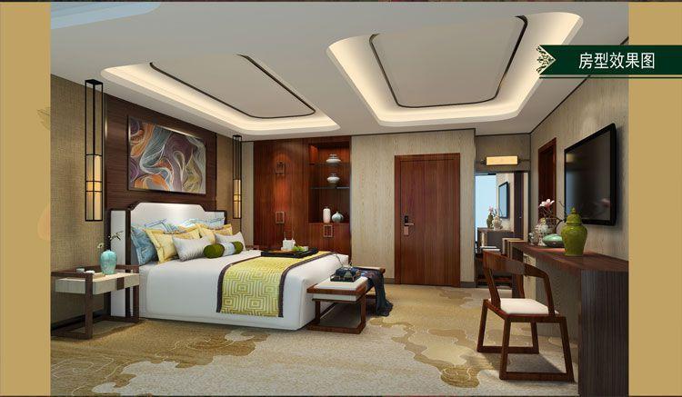 酒店客房房型效果图