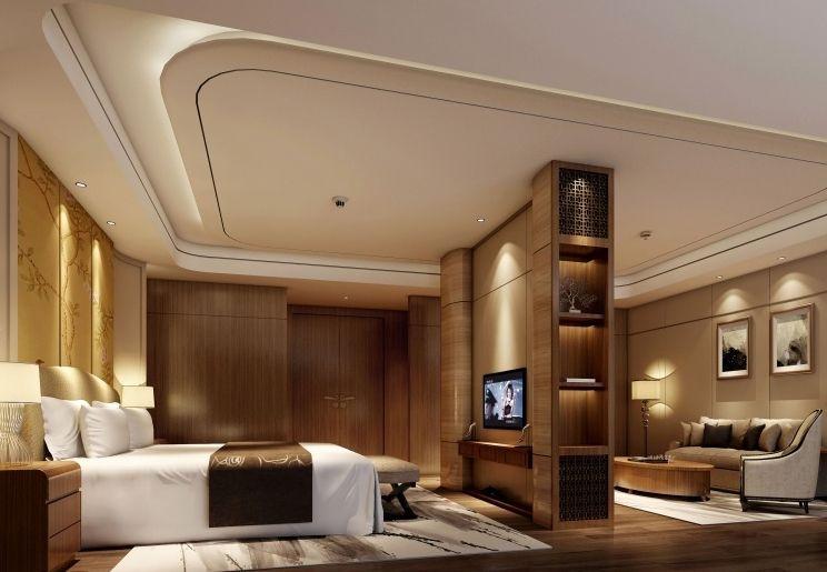 酒店装修客房空间设计