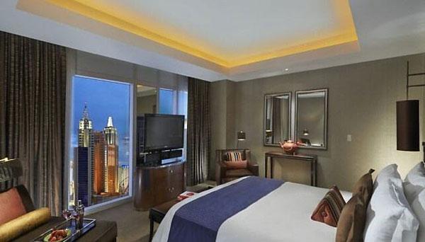 快捷酒店卧室空间布局设计