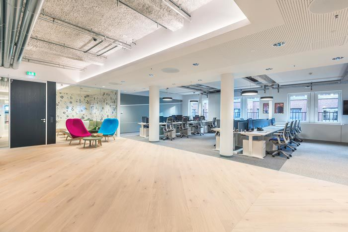 软件开发公司办公区域