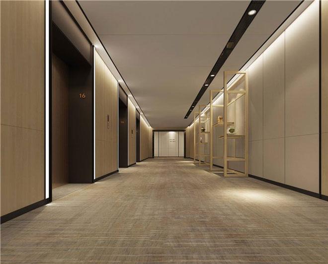 商务酒店客房走廊设计