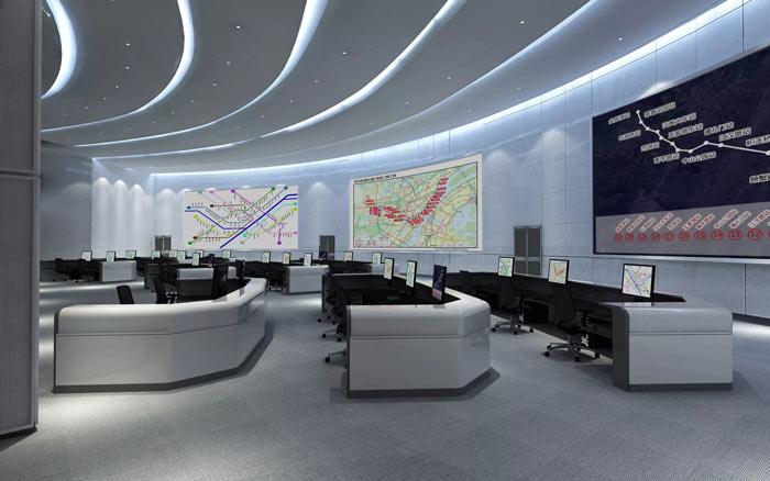 地铁指挥中心装修设计(效果图)