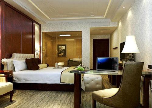 商务型酒店客房布局图
