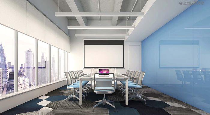 科技公司会议室效果图