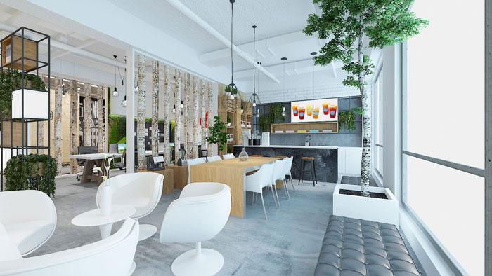 办公室整体空间装饰设计