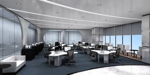 办公室黑白灰色彩搭配