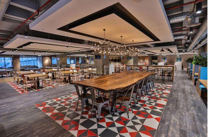 办公楼餐厅空间装修