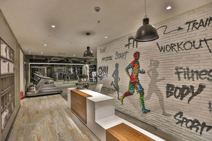 办公楼娱乐、健身前台接待