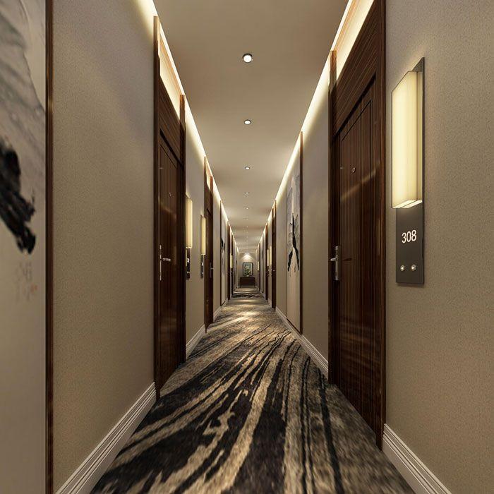 酒店客房走廊设计