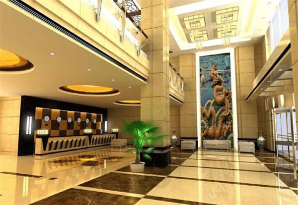 成都装修设计酒店大厅