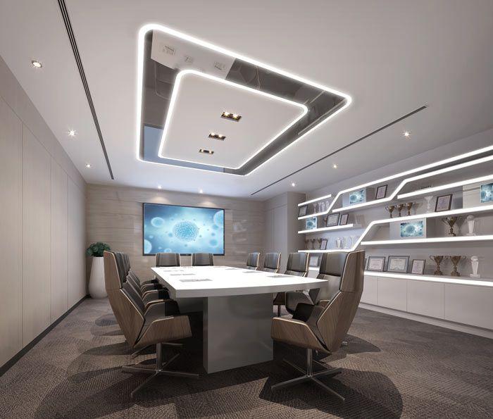 成都小型办公室装修会议室