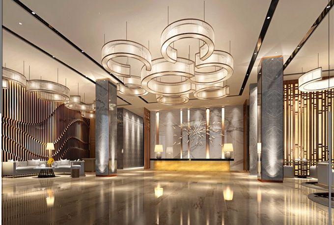 成都精品酒店大堂装修设计