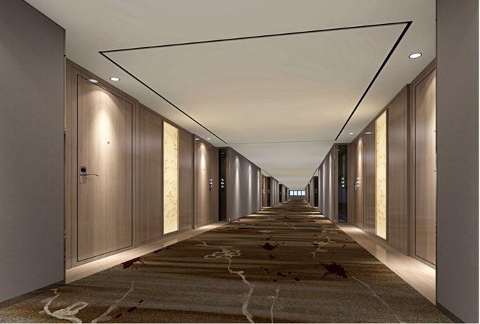 成都精品酒店客房走廊装修