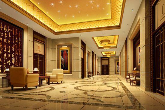 成都星级酒店装修走廊